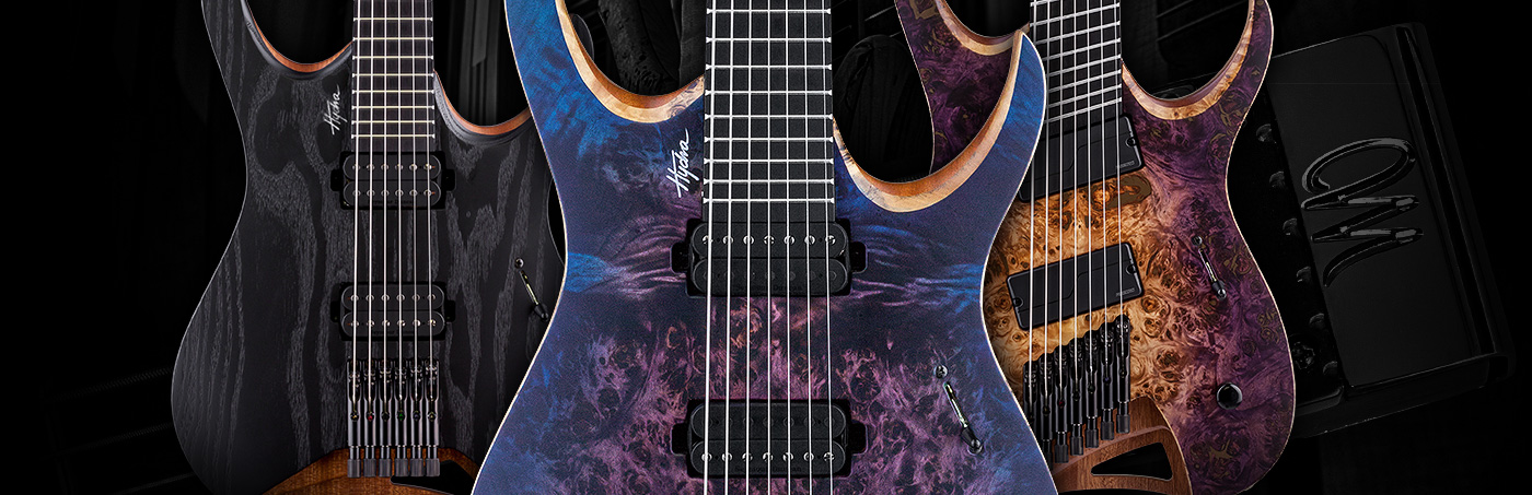 Mayones Guitars & Basses – Hydra Series