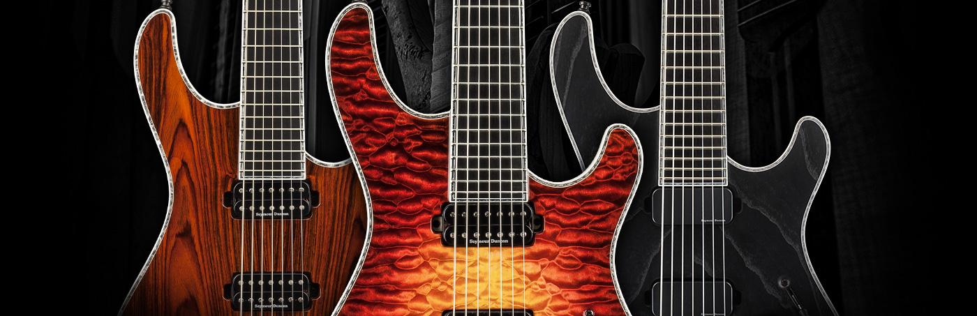 Mayones Guitars & Basses – Colour & Finish Options