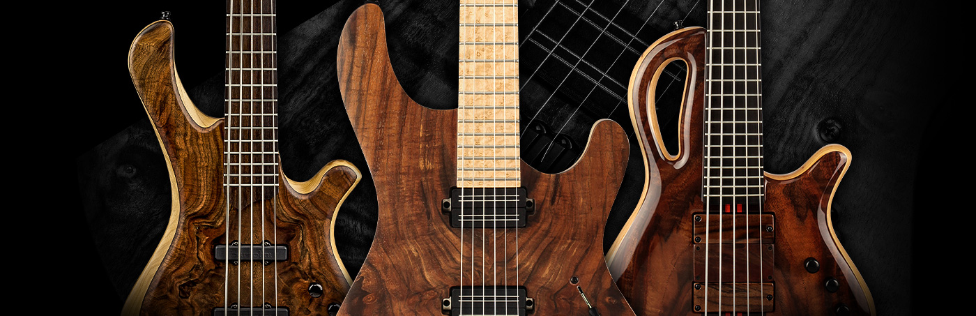 Guitars with a Claro Walnut Top Wood