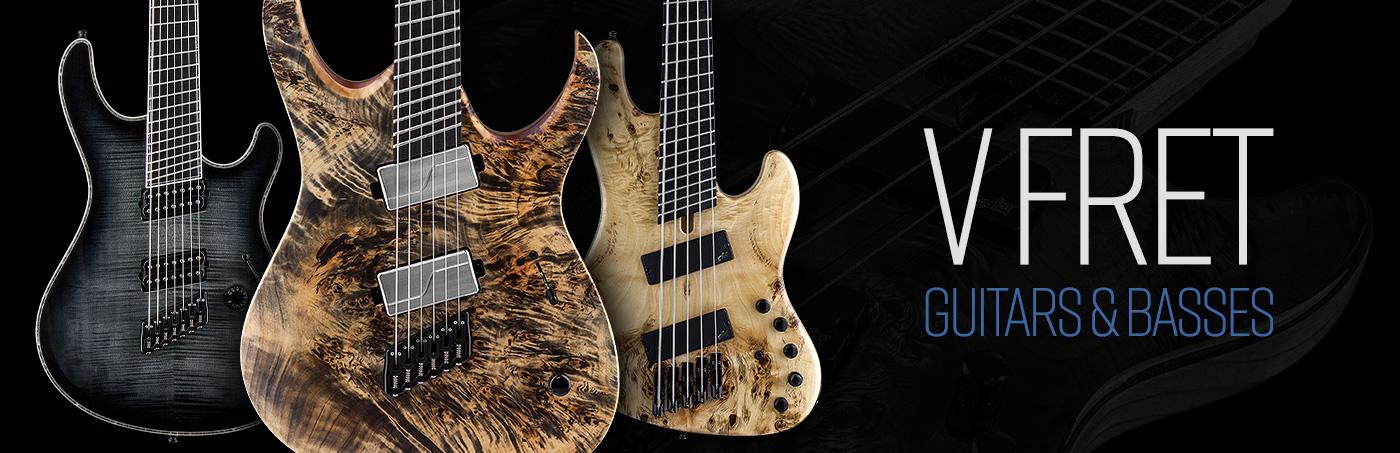 V-Fret – Multiscale Guitars & Basses