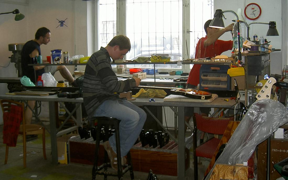 2001 - 2004 - Dział montażu końcowego