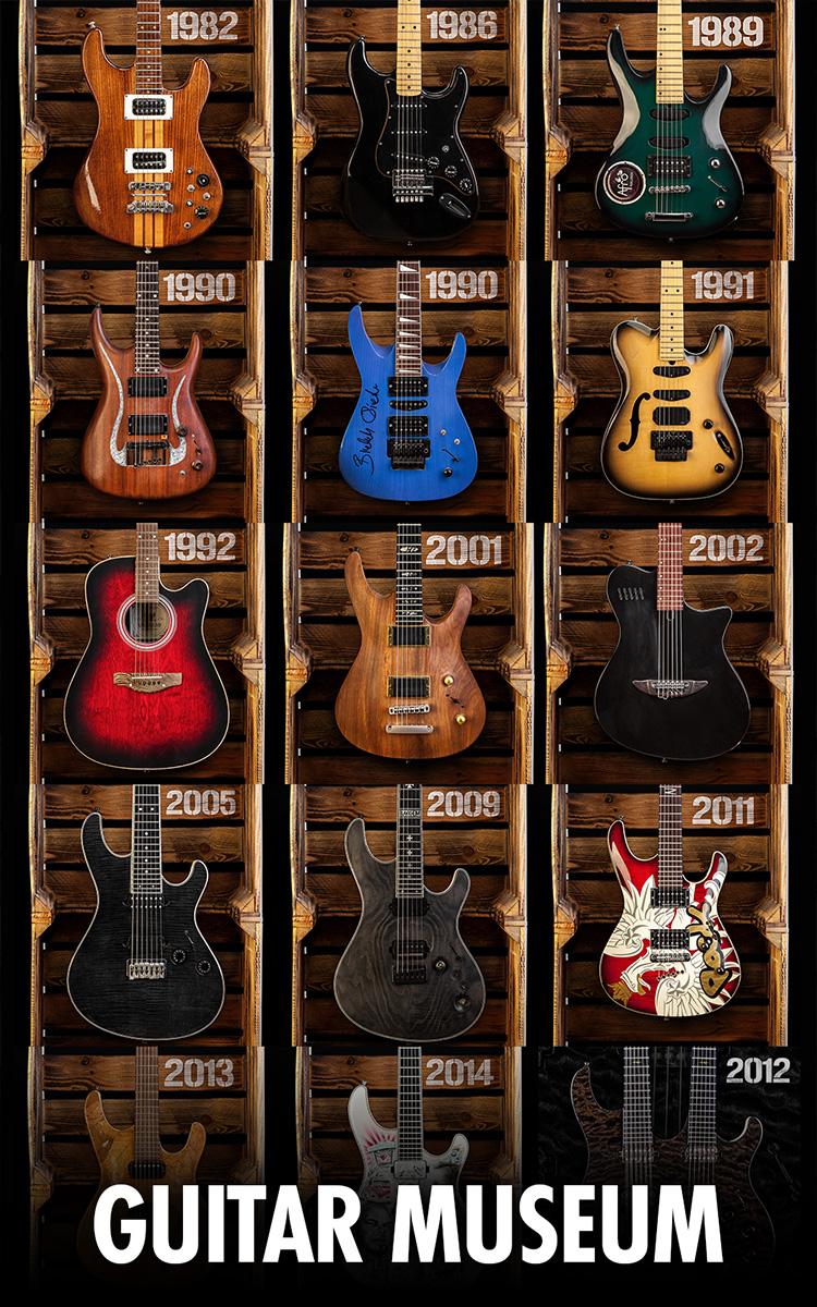 Mayones Guitar Museum