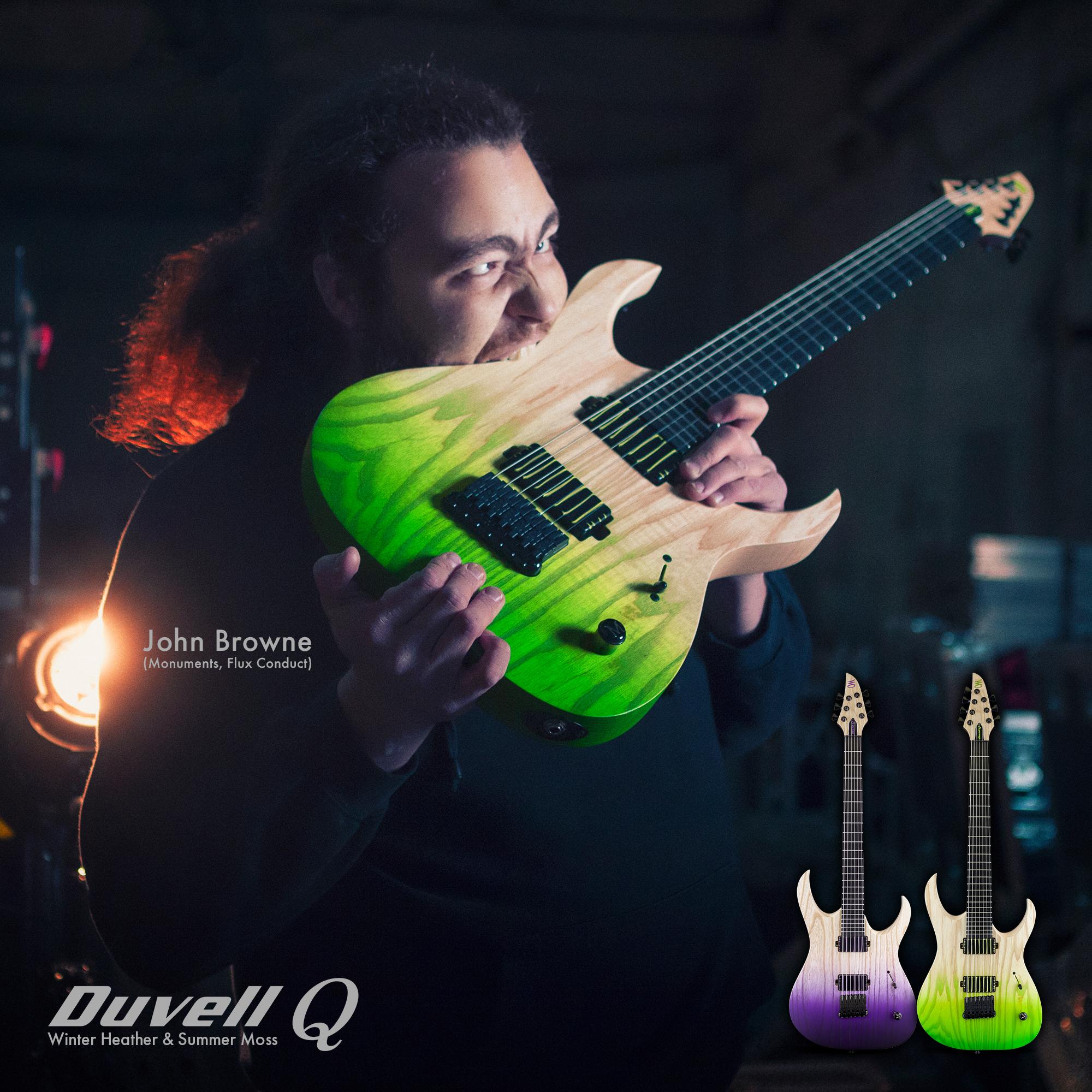 Duvell Q – New John Browne Signature Series Guitars