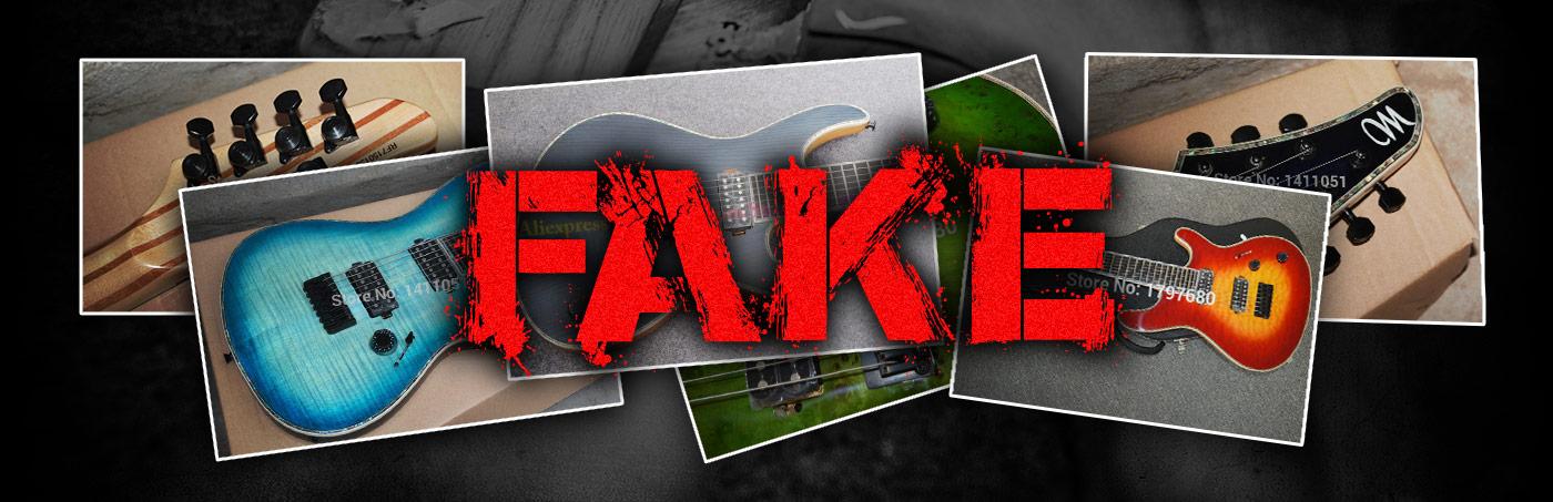 Warning – Fake Guitars!
