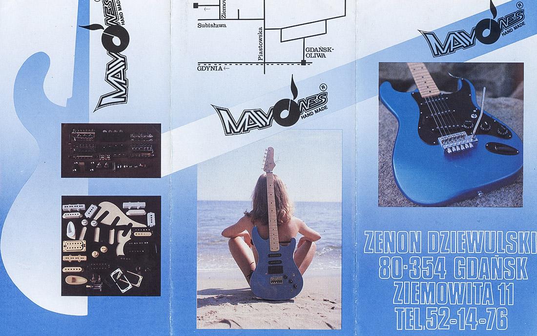 1984 - Pierwszy katalog Mayones (strona 1)