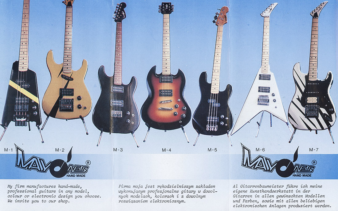 1984 - Pierwszy katalog Mayones (strona 2)