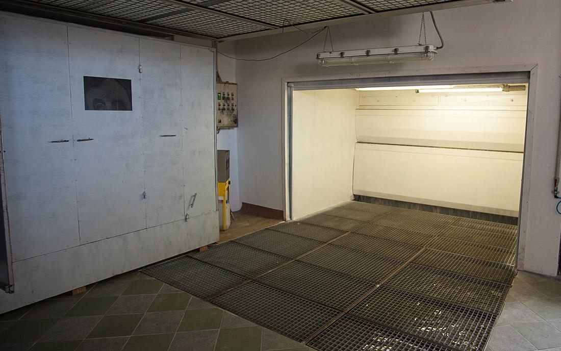 2014 - Nowe pomieszczenie malarni