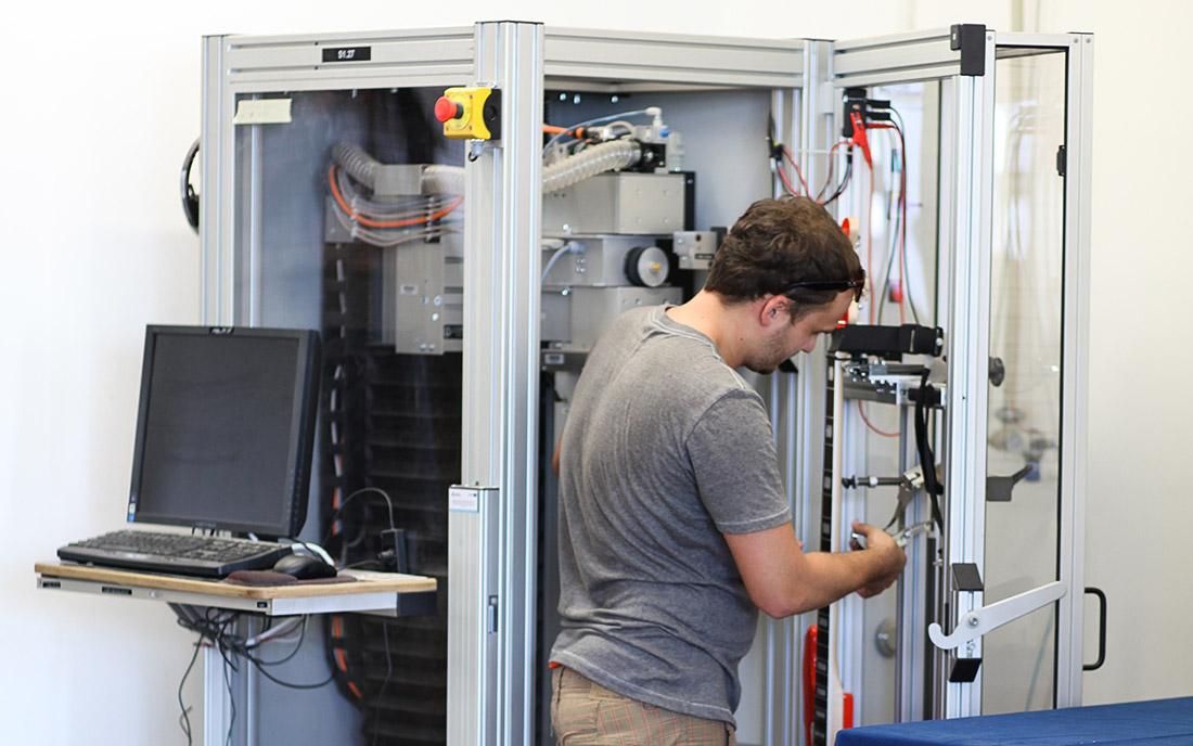 2014 - Urządzenie PLEK przygotowywane do pracy