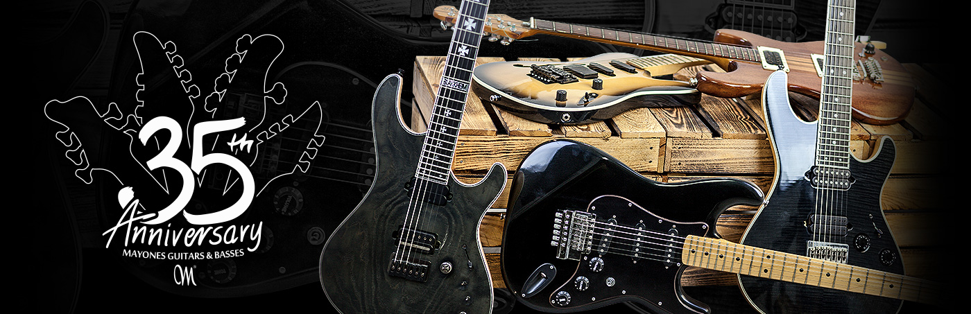 Mayones Guitars & Basses Timeline